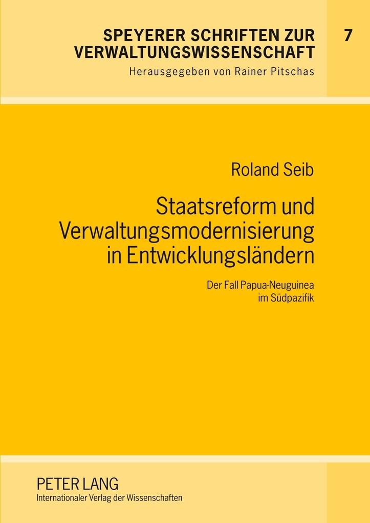 Staatsreform und Verwaltungsmodernisierung in E...