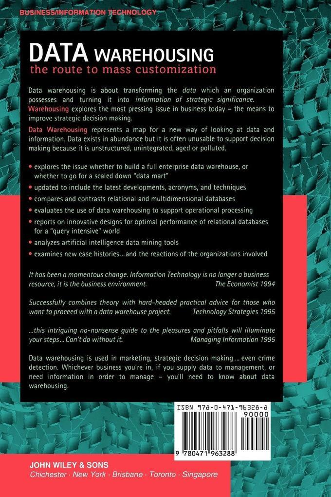 Data Warehousing: The Route to Mass Communication als Taschenbuch