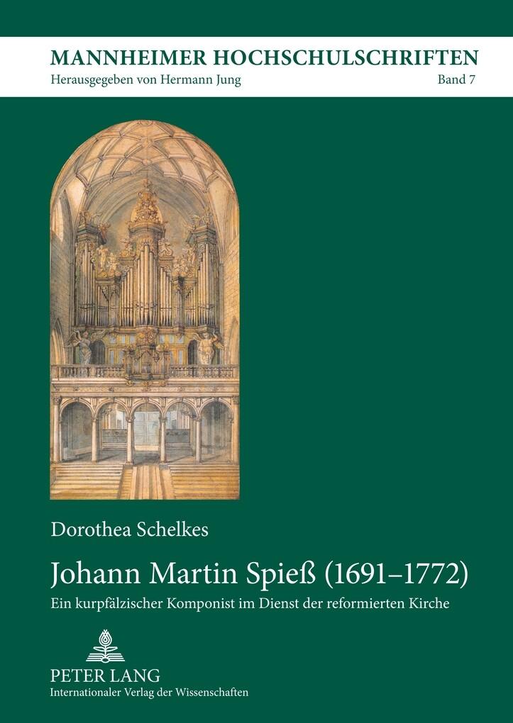 Johann Martin Spieß (1691-1772) als Buch