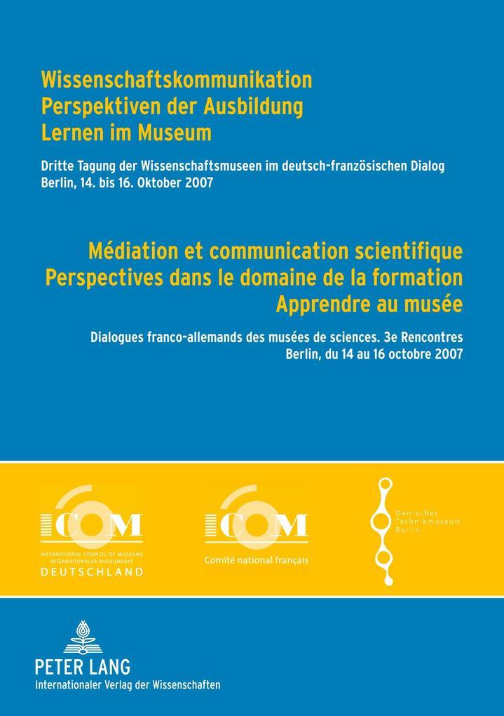 Wissenschaftskommunikation - Perspektiven der A...