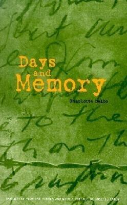 Days and Memory als Taschenbuch