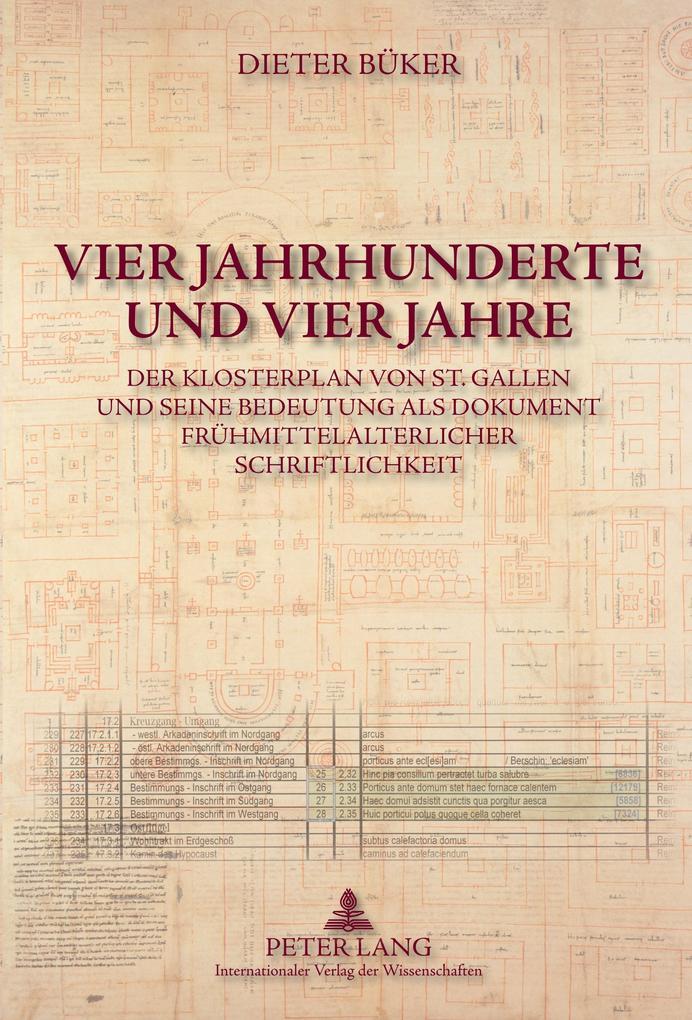 Vier Jahrhunderte und vier Jahre als Buch (gebunden)