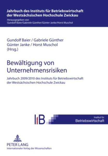 Bewältigung von Unternehmensrisiken als Buch von