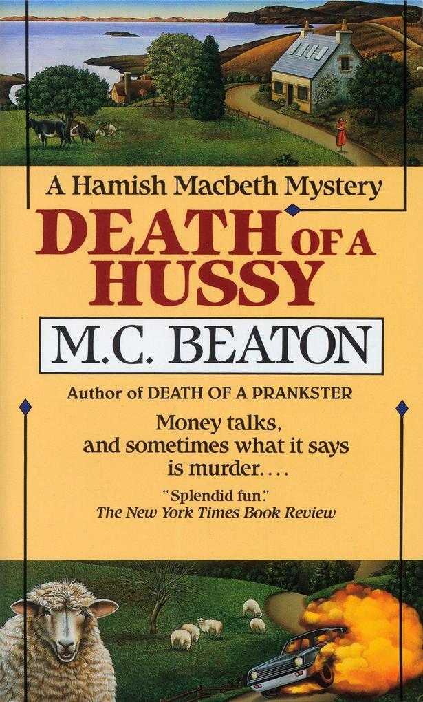 Death of a Hussy als Taschenbuch