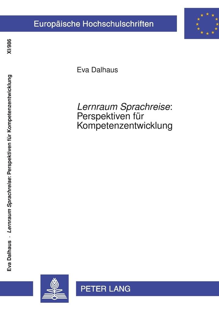 Lernraum Sprachreise: Perspektiven für Kompeten...