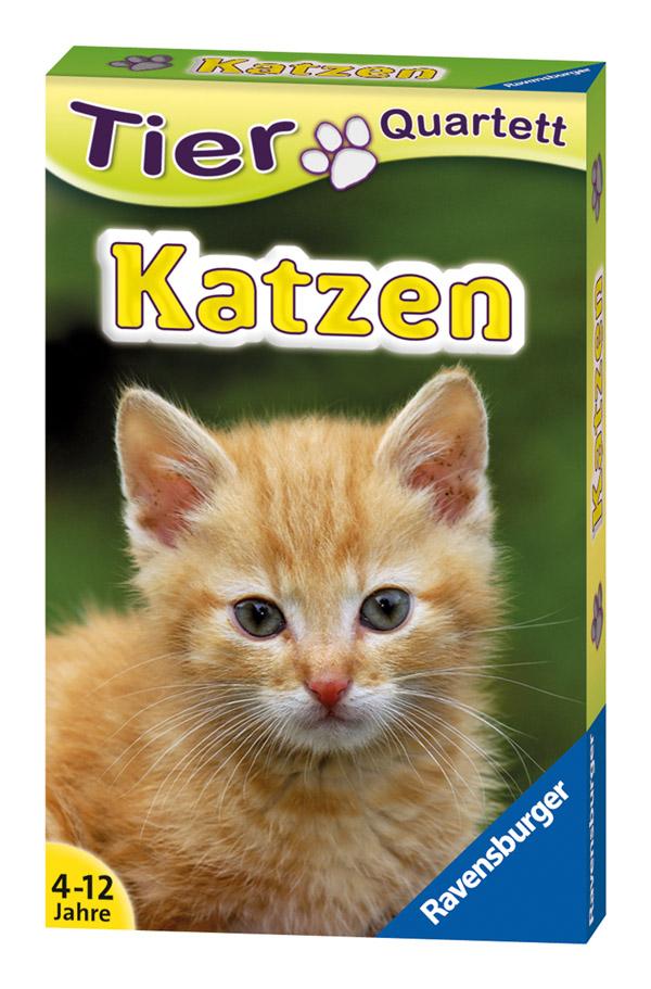 Katzen. Tier-Quartett