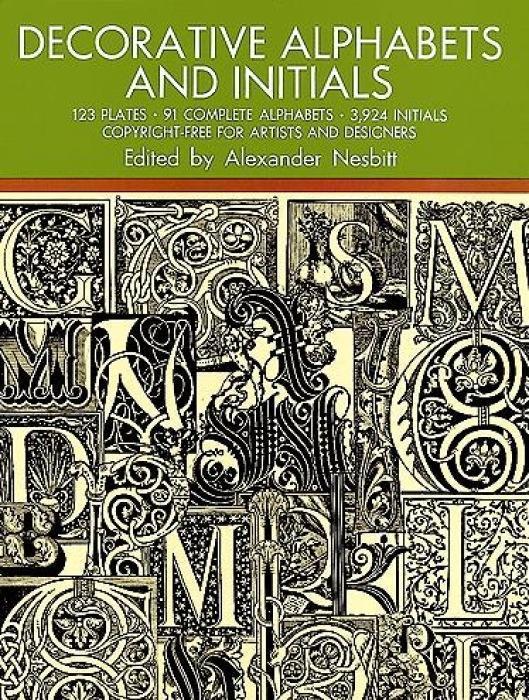Decorative Alphabets and Initials als Taschenbuch