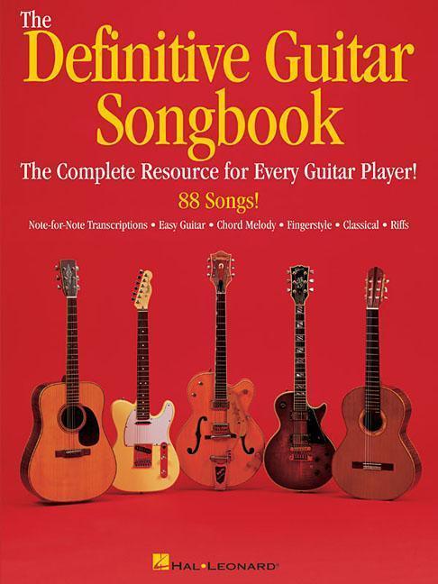 The Definitive Guitar Songbook als Taschenbuch