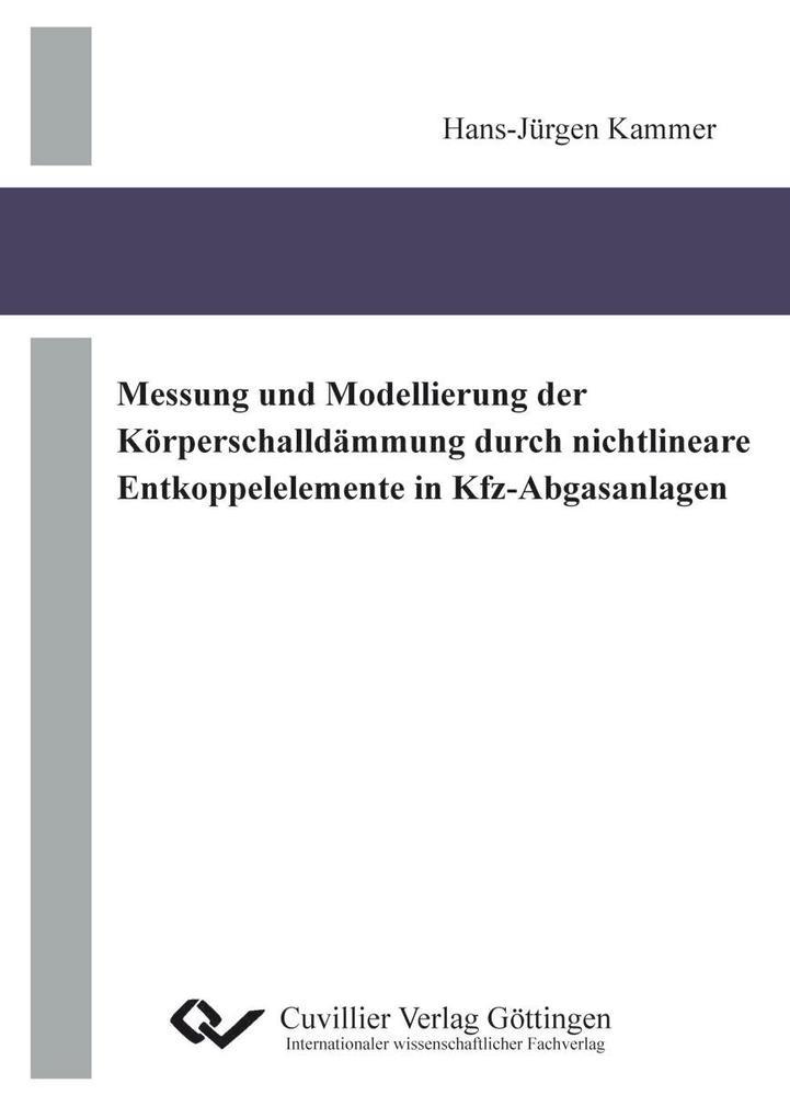 Messung und Modellierung der Körperschalldämmun...