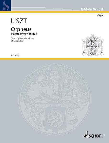 Orpheus als Buch von Jean Guillou