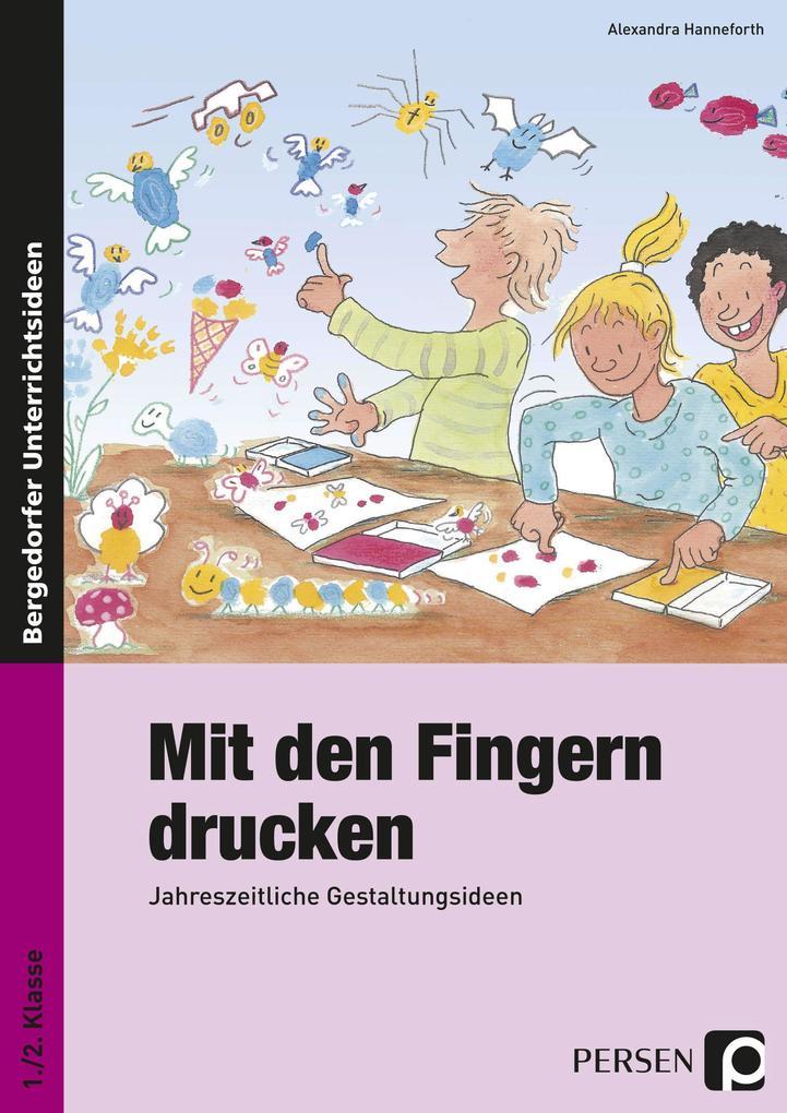 Mit den Fingern drucken als Buch von Alexandra ...