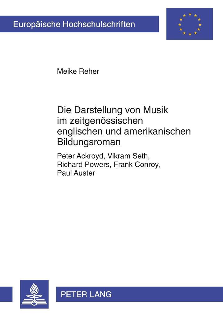 Die Darstellung von Musik im zeitgenössischen e...