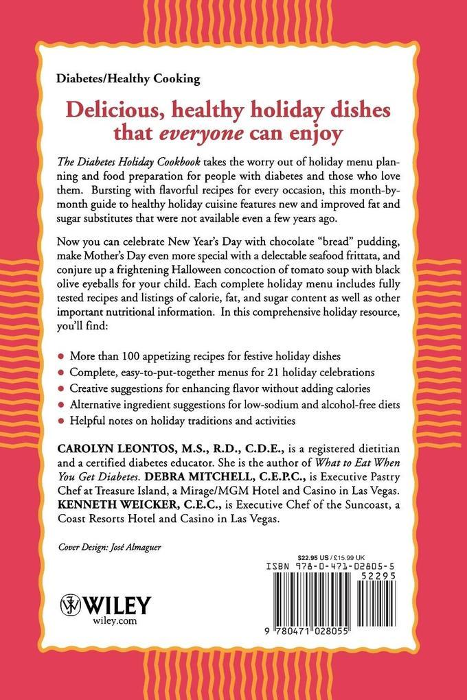 Diabetes Holiday Cookbook als Taschenbuch