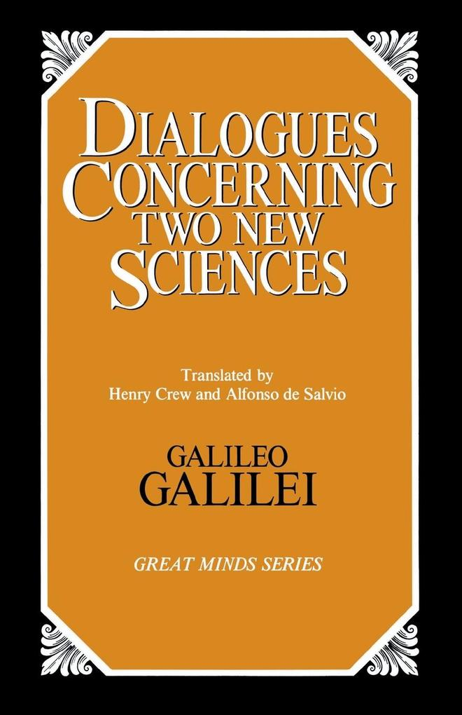 Dialogues Concerning Two New Sciences als Taschenbuch