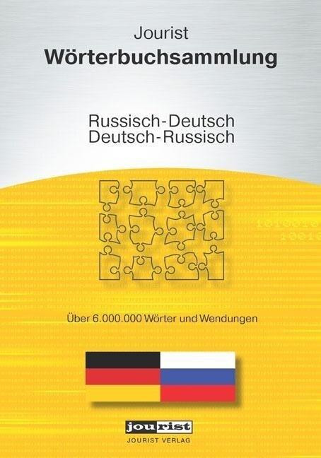 Jourist Wörterbuchsammlung Russisch-Deutsch, De...