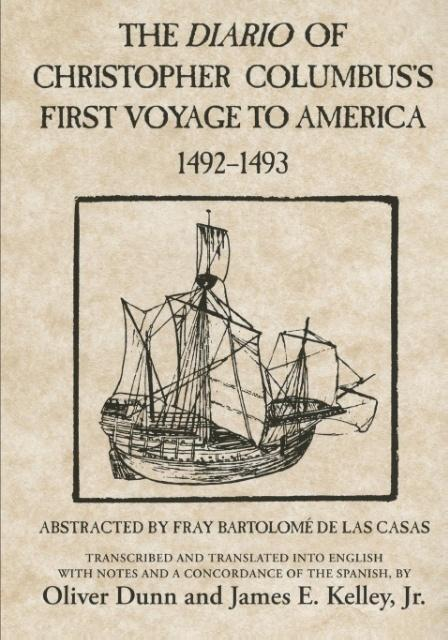 The Diario of Christopher Columbus's First Voyage to America 1492-1493 als Taschenbuch