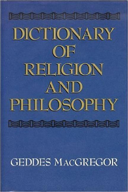 Dictionary of Religion and Philosophy als Buch
