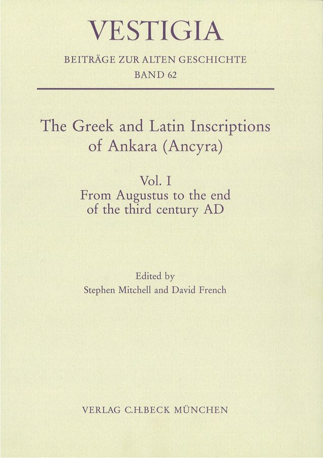 From Augustus to the end of the third century AD als Buch