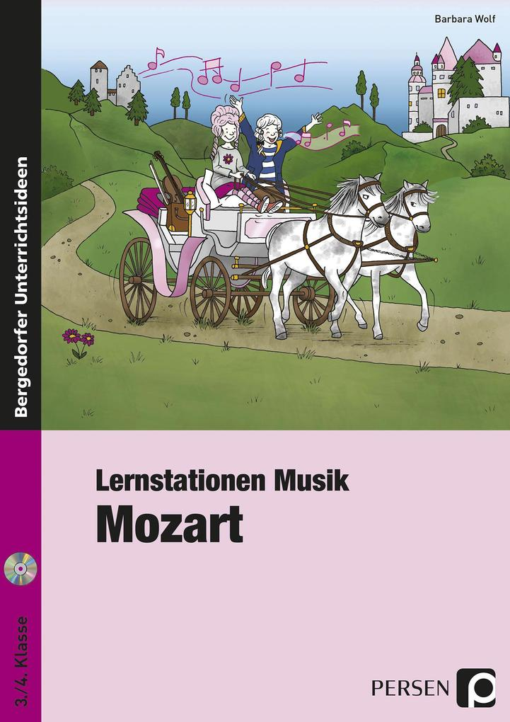 Lernstationen Musik: Mozart als Buch von Barbar...