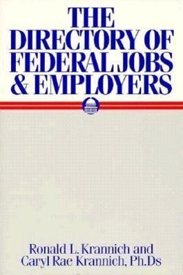 The Directory of Federal Jobs and Employers als Taschenbuch