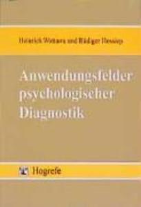 Anwendungsfelder psychologischer Diagnostik als...