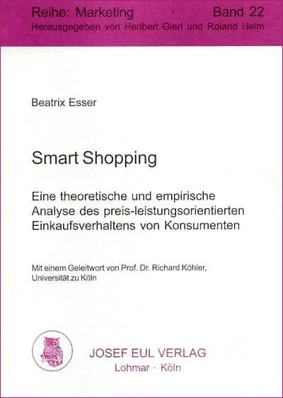 Smart Shopping als eBook Download von Dr. Beatr...