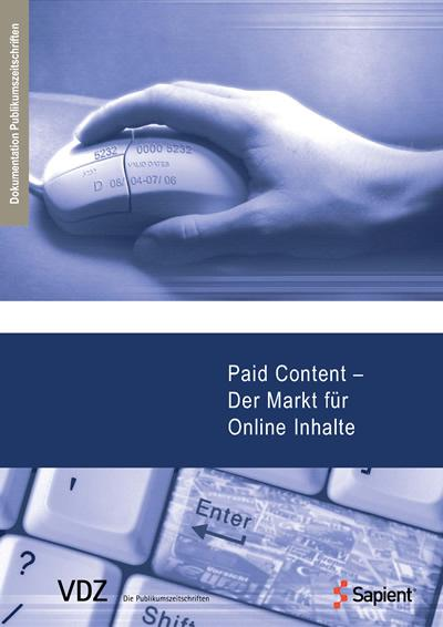 Paid Content - Der Markt für Online Inhalte (VD...