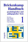 Brickenkamp Handbuch psychologischer und pädagogischer Tests, 2 Bde., Bd.1