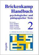 Brickenkamp Handbuch psychologischer und pädagogischer Tests, 2 Bde., Bd.2