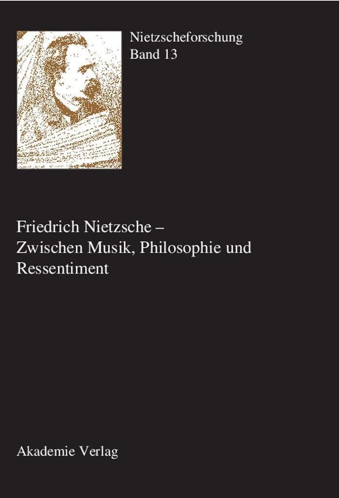 Friedrich Nietzsche - Zwischen Musik, Philosoph...