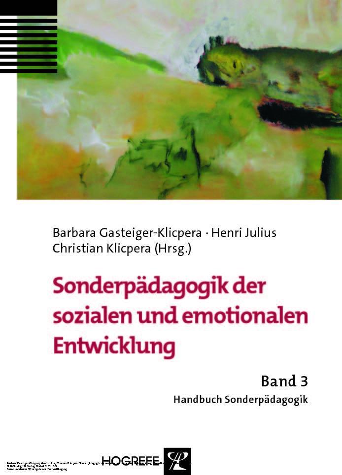 Sonderpädagogik der sozialen und emotionalen En...
