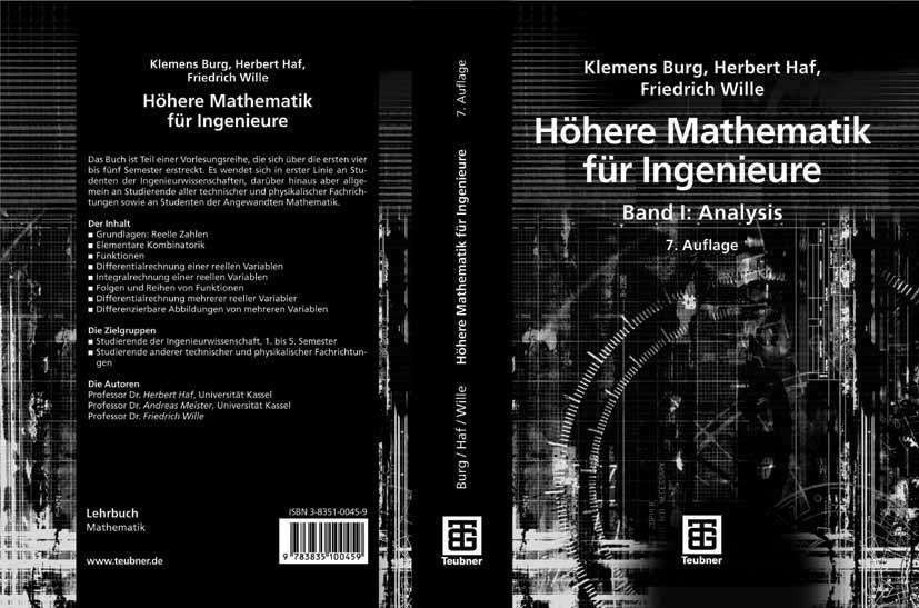 Höhere Mathematik für Ingenieure Band I als eBo...