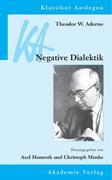 Theodor W. Adorno: Negative Dialektik
