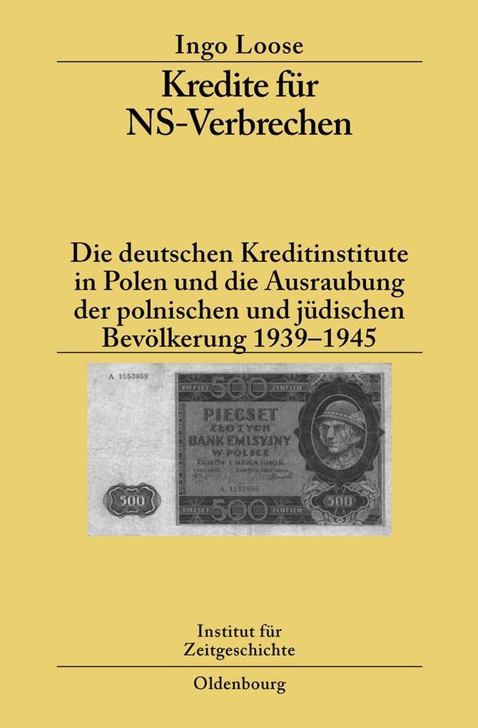 Kredite für NS-Verbrechen als eBook Download vo...