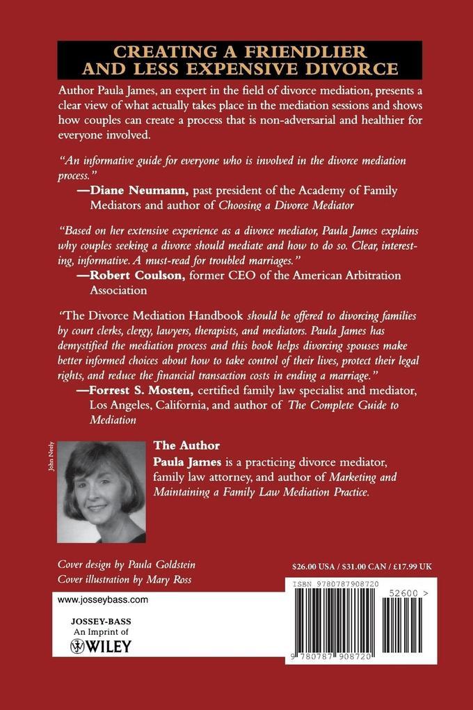The Divorce Mediation Handbook als Taschenbuch