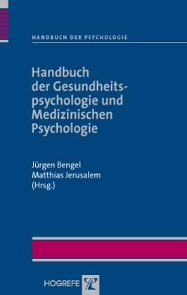 Handbuch der Gesundheitspsychologie und Medizin...