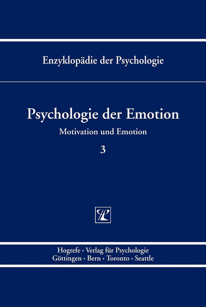 Psychologie der Emotion (Enzyklopädie der Psych...