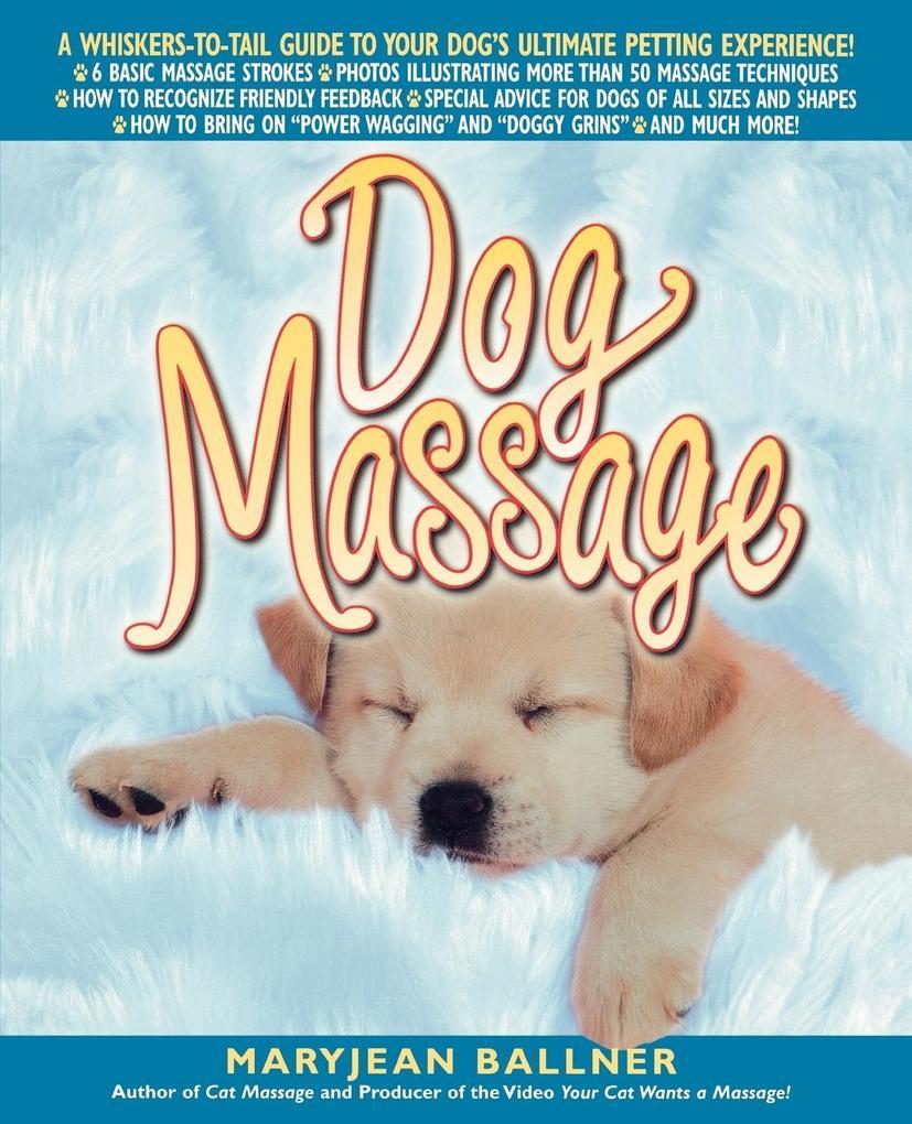 Dog Massage als Taschenbuch
