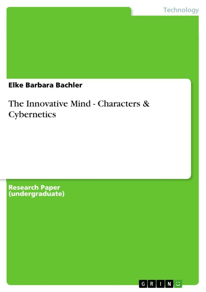 The Innovative Mind - Characters & Cybernetics ...