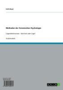 Methoden der forensischen Psychologie als eBook...