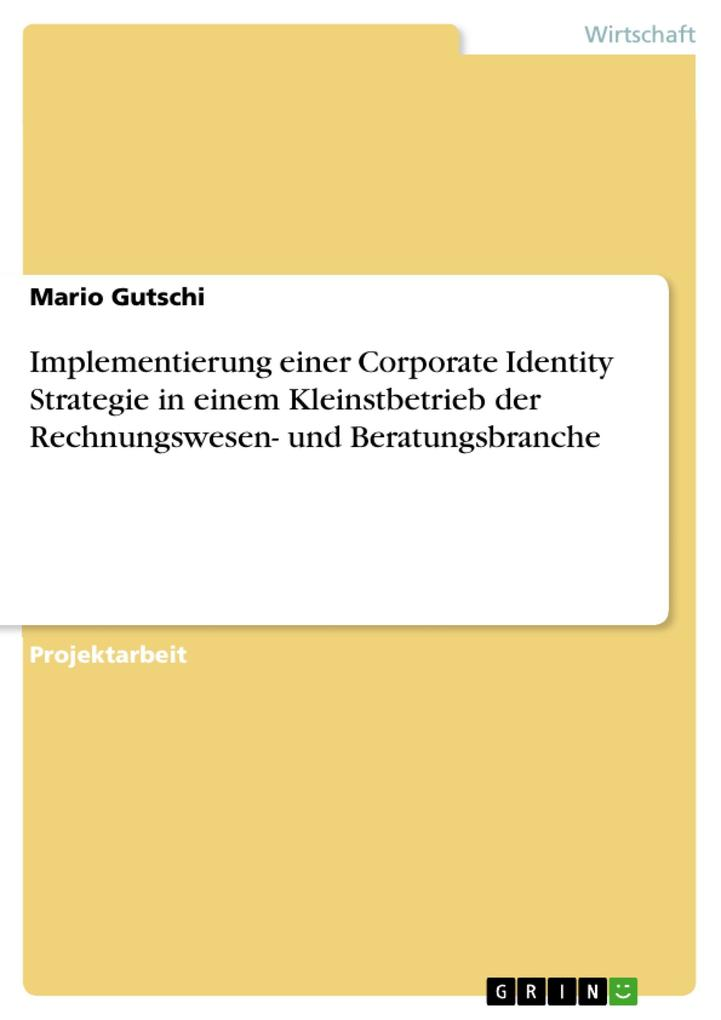 Implementierung einer Corporate Identity Strate...