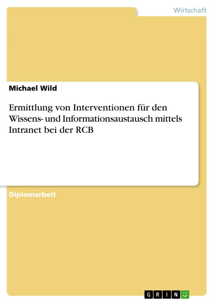 Ermittlung von Interventionen für den Wissens- ...