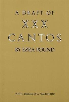 Draft of XXX Cantos als Taschenbuch