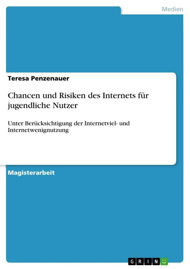 Chancen und Risiken des Internets für jugendlic...