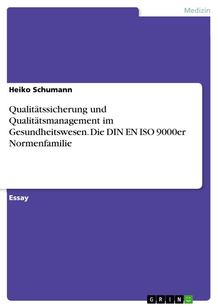 Grundlagen der Qualitätssicherung und Qualitäts...