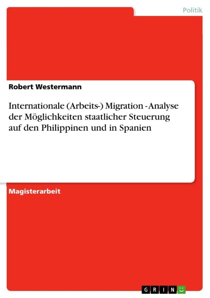 Internationale (Arbeits-) Migration - Analyse d...
