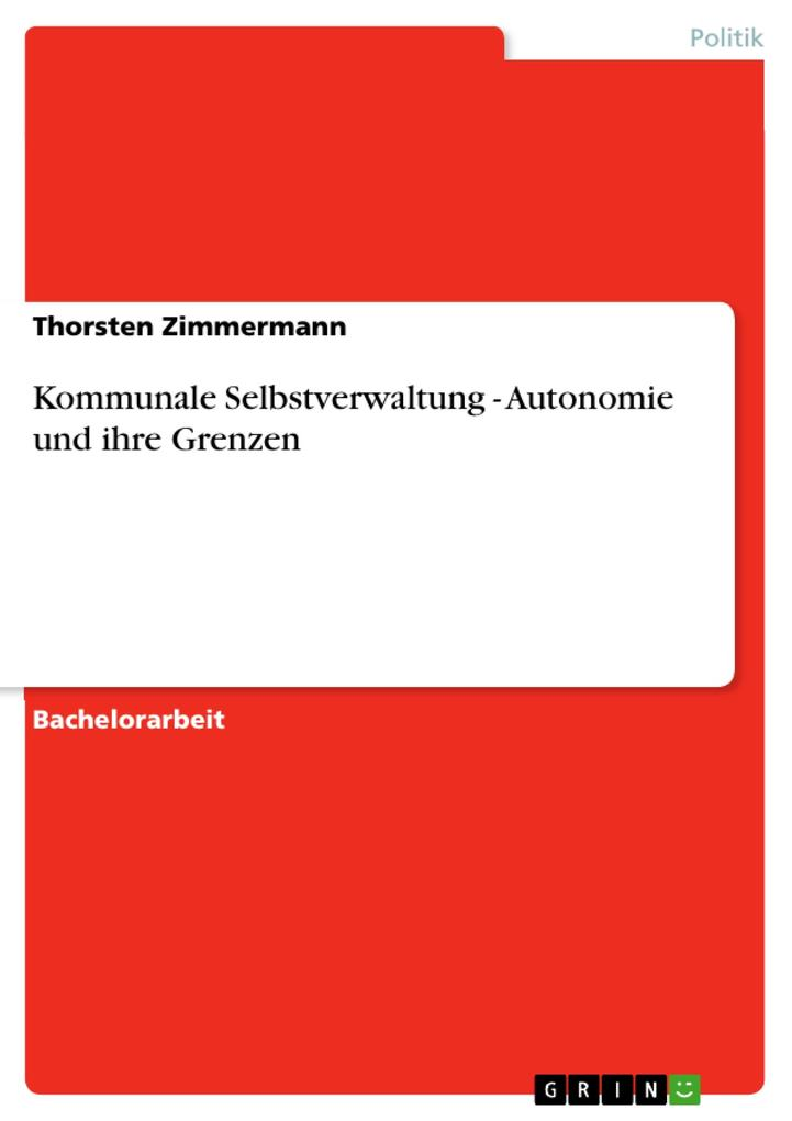 Kommunale Selbstverwaltung - Autonomie und ihre...
