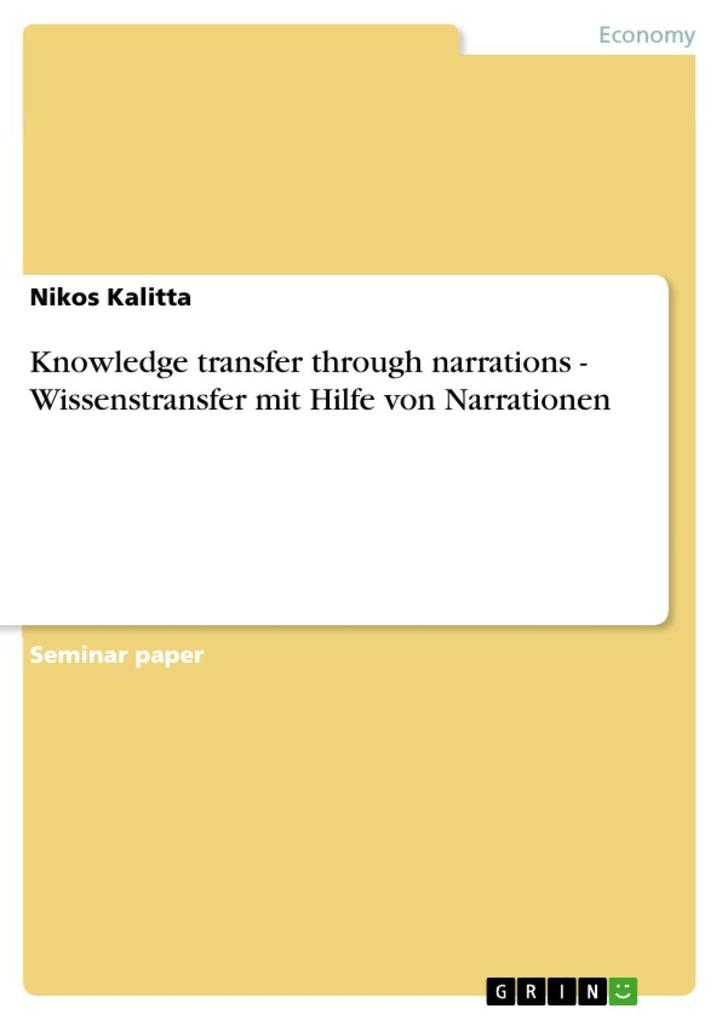 Knowledge transfer through narrations - Wissens...