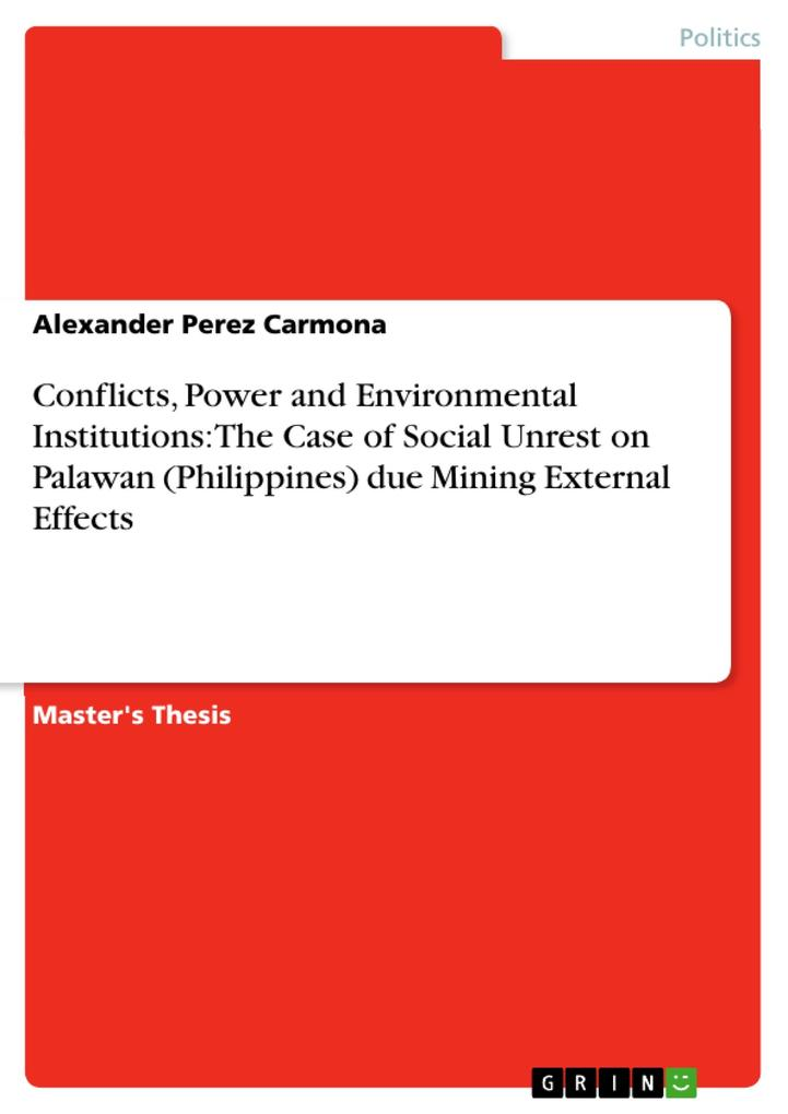 Conflicts, Power and Environmental Institutions...