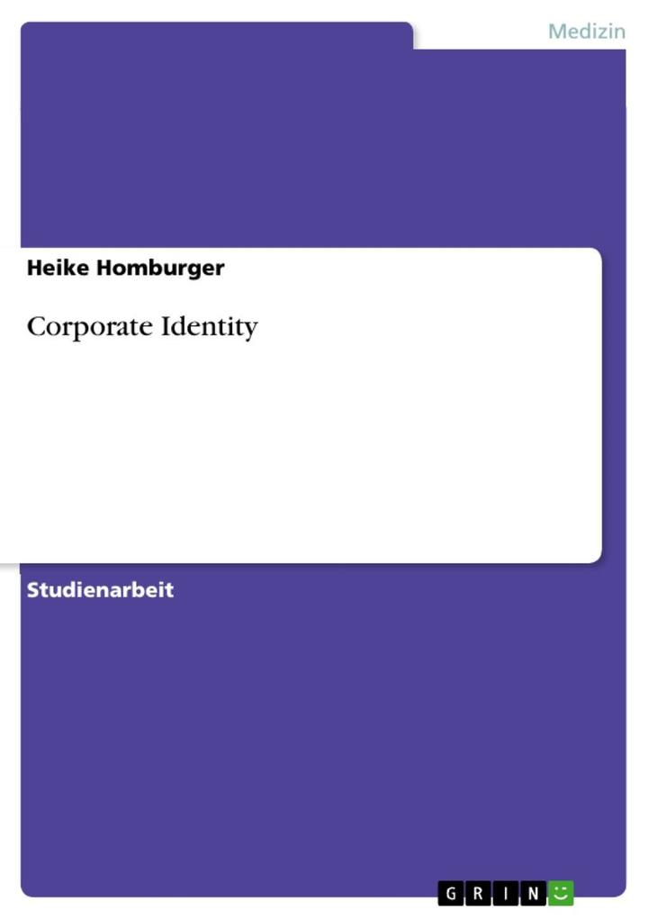 Corporate Identity als eBook Download von Heike...